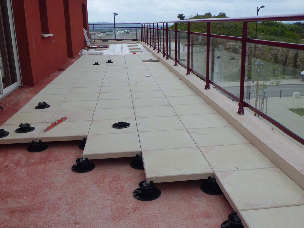 Gard tanch it sp cialiste tanch it et isolation dans for Etancheite terrasse beton avant carrelage